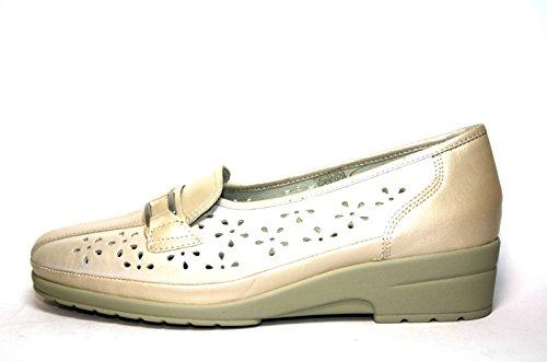 Jenny by ara , Chaussures de ville à lacets pour femme Multicolore - Mehrfarbig (Kaschmir-Perlato)