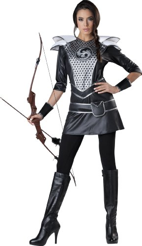 Katniss Huntress-Kostüm für Damen - - Katniss Mockingjay Kostüm