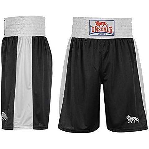 Lonsdale Hombre Box Shorts Entrenar Boxeo Pantalones Deporte Gimnasio Vestir
