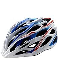 HYF-Aegis Casco de alta calidad de la bici del EPS moldeado integrado, equipo del casco de la bici de la carretera / de la montaña , blue , M