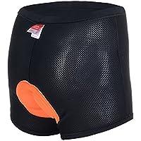 ANGTUO Pantalone imbottito da ciclismo da donna con imbottitura 3D Pantalone antiurto con alta permeabilità all'aria