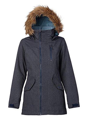 Burton Damen Hazel Jacket Snowboardjacke, Denim, L
