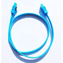 1 x Gigabyte High Quality Original Light Blue SATA 3 6GB/s Cable (46cm)