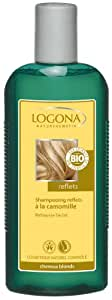 Logona - 1003shacam - Soin et Beauté du Cheveu - Shampooing Reflets à la Camomille - 250 ml