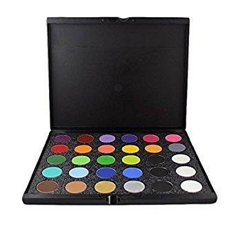 Mehron Paradise AQ Pro Face Paint Palettes (30 Colors by (Mehron Paradise Up Make)