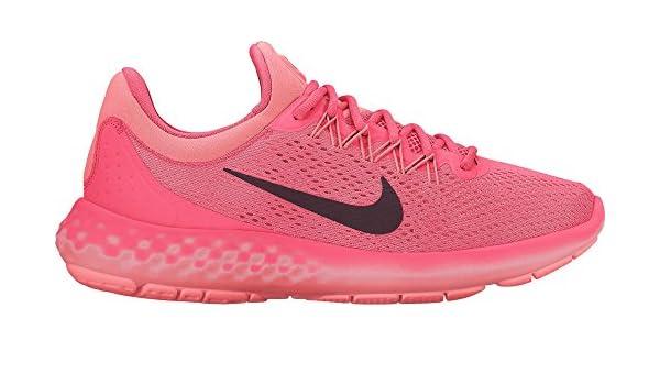 db896257628 Nike Women s Lunar Skyelux Hot Punch Night Maroon Running Shoe 10 Women US   Amazon.in  Shoes   Handbags