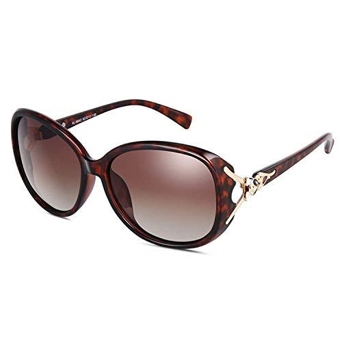 WERERT Sportbrille Sonnenbrillen Big Square Sunglasses Women Polarized UV400 Oversized Sun Glasses Retro