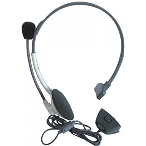 Headphone Headset Microphone For Microsoft Xbox 360 Online Mic Live Gaming Chat
