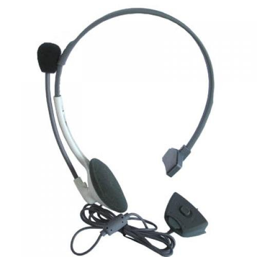 Headphone Headset Microphone For Microsoft Xbox 360 Online Mic Live Gaming Chat [Importación Inglesa]