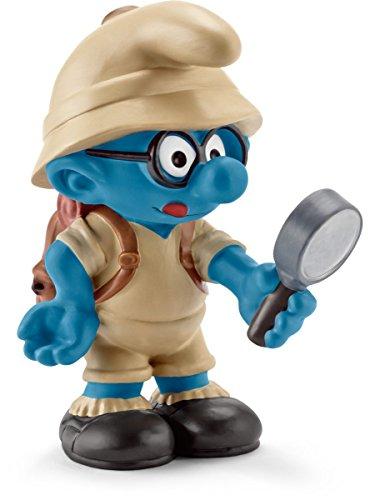 Schleich - 20778 - Figurine - Schtroumpf à lunettes de la jungle