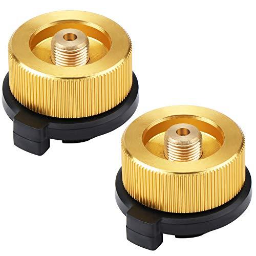 Coolty 2pcs Boquilla Conector Adaptador De Transferencia para Bote de Butano para...