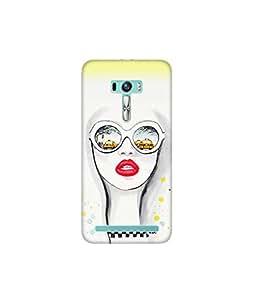 Kolor Edge Printed Back Cover for Asus Zenfone Selfie - Multicolor (4400-Ke10812ZenSelfieSub)