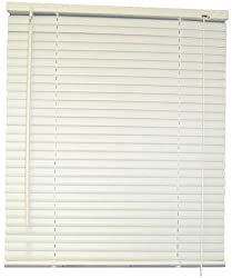 DESIGNERS TOUCH 1-Inch Vinyl Mini Blinds, Alabaster, 28X72 In. - 833437
