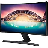 Samsung S24E500C 59,94 cm (24 Zoll) Curved Monitor (VGA, HDMI, 4ms, 60Hz, 1.920 x 1.080 Pixel) schwarz-glänzend