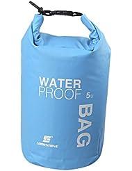 5L Bolsa de Deporte Al Aire Libre Bolsa Impermeable a Prueba de Agua Azul