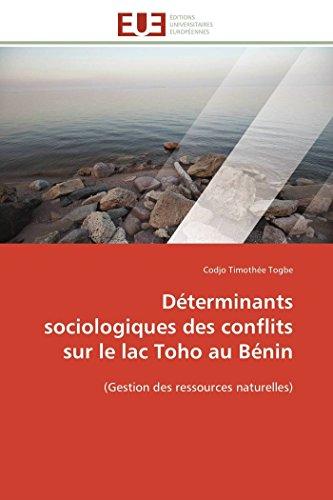Déterminants sociologiques des conflits...