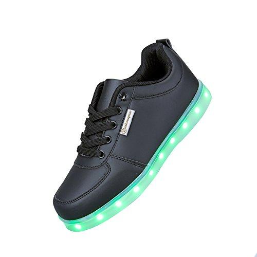Angin-Tech LED Zapatos 7 Color de la Zapatilla con Luces de Deporte...