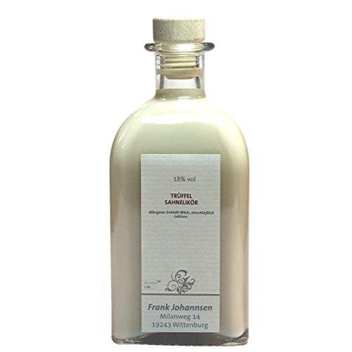 Trüffel Sahnelikör - 500 ml - 18% vol. sahnig | Erinnert an edelste Pralinen.