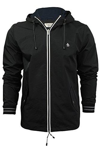 original-penguin-homme-full-zip-logo-ratner-veste-a-capuche-noir-medium