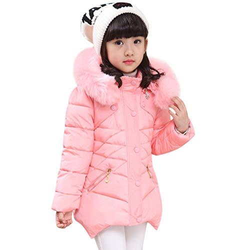 Modaworld Kinder-Baby-Winter-Fester Mantel Jacke starker Warmer Hoodie-Oberbekleidung-Kleidung Langarm -