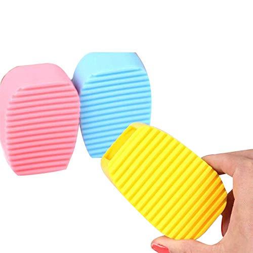 Kreative Flexible Hand Peeling Waschen Silica Gel Waschbrett Reinigungsbürste Mini -