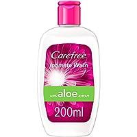 CAREFREE, Intimate Wash with Aloe 200ml