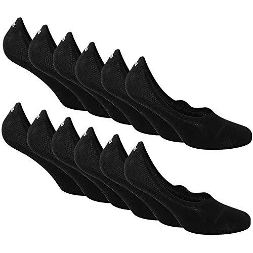 Snocks Sneaker Socken Damen Schwarz Größe 39-42 Gr 39 40 41 42 Schwarze Füßlinge Kurze Frauen Ballerina Sneakersocken Sommersocken Füsslinge Baumwolle Sneakers Kurz Halbsocken Invisible Socks