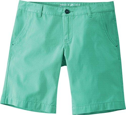 Golden Lutz LIVERGY® Herren Chino Shorts, 100% Baumwolle (Minze, Gr. 56)