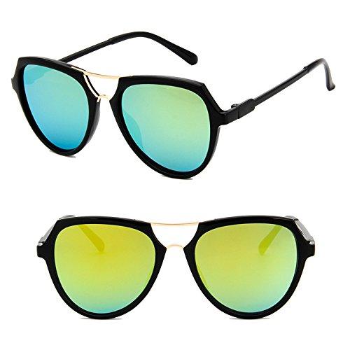 sonnenbrille neue titel lady sonnenbrille, runde gesicht zurück zu alten korea, elegante persönlichkeit, runde augen, star - models,glänzende gold mercury (stoff)