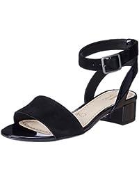 008c0b6a2823 Clarks Women s Sharna Balcony (Fit D) Fashion Sandals
