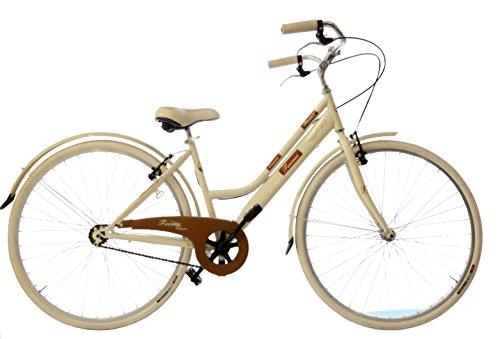 Bici Faema Vintage 28 Donna 1v Sport Panna Negozio Di Bici Da Città