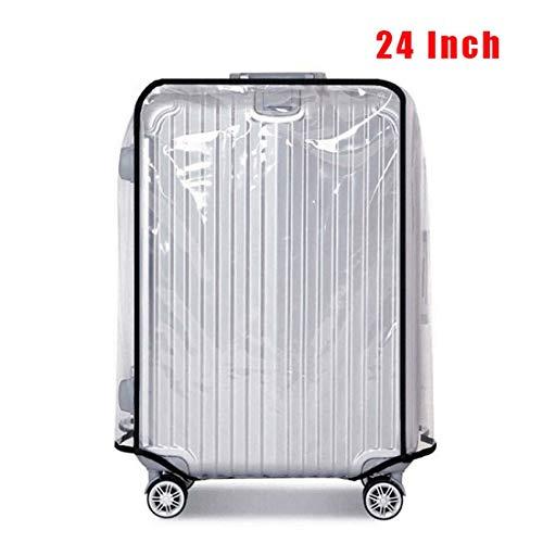 Warmiehomy Transparente Kofferschutzhülle Kofferschutz Schutzhülle Wasserdicht Staubdicht Umschlag Gepäck Regenschutz