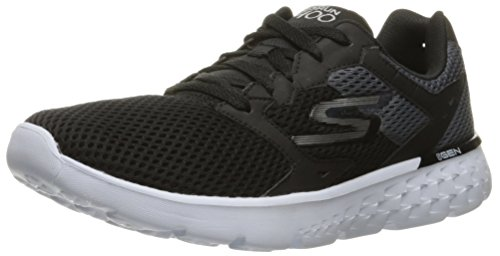 Skechers Go Run 400, Chaussures Multisport Outdoor Homme Noir (Bkw)