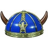 Vikingo Casco Azul para niños