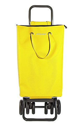 ROLSER Einkaufsroller LOGIC TOUR / SUPERBAG, SUP003, 39,5 x 32,5 x 105,5 cm, 50 Liter, 40 kg Tragkraft amarillo