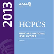 HCPCS Medicare's National Level II Codes Data File