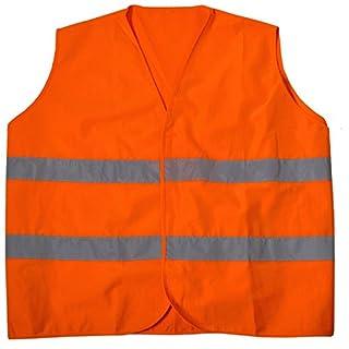 Abraxas Übergrößen Warnweste/Sicherheitsweste in Orange in Großen Größen von 6XL – 10XL
