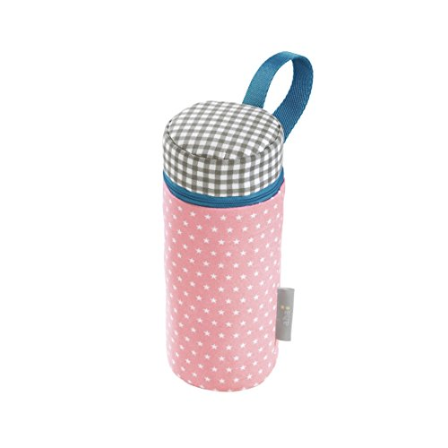 Preisvergleich Produktbild aha: Isoliertasche für Baby-Flaschen, Girl´s Pink