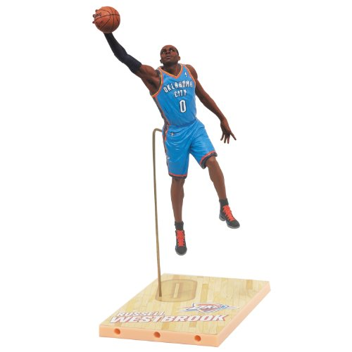 McFarlane NBA Oklahoma City Thunder 2012 Series 21 Russell Westbrook (Action Figur