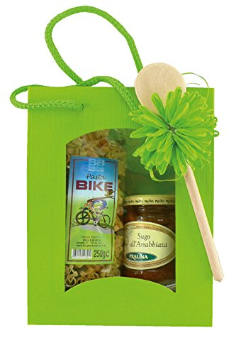 Preisvergleich Produktbild Geschenkset Fahrradnudeln Pasta Bike mit Sugo all'Arrabbiata