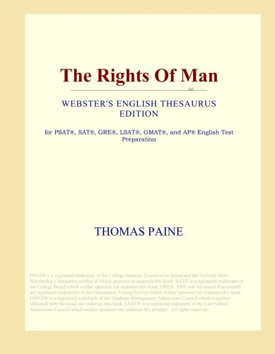 The Rights Of Man (Webster's English Thesaurus Edition)
