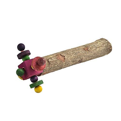 Parrot Essentials Twirler - Trespolo in Legno per Pappagallo
