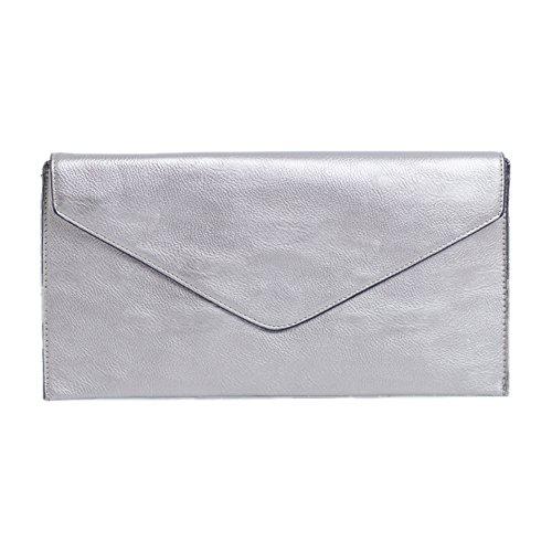 Damen Tasche Mädchen Clutch Bag Handtasche Party Hochzeit Abendtasche Tasche Handschlaufe (Wallet Bag Clutch)