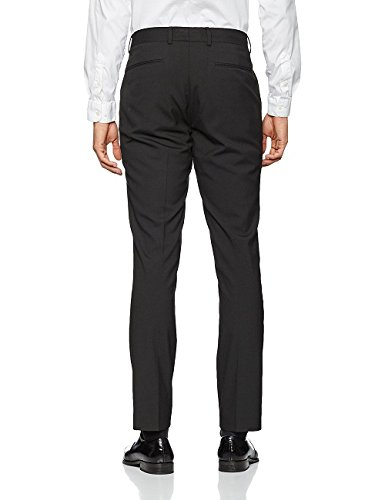 New Look Slim Suit Trouser, Pantaloni Uomo Blue (Mid Blue)