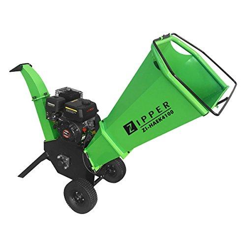 ZIPPER Gartenhäcksler Holzhäcksler Benzin-Häcksler Schredder ZI-HAEK4100 ***NEU***