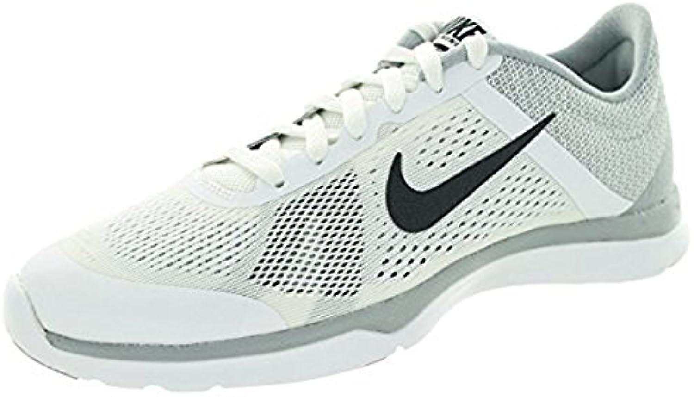 Zapatillas para correr Nike Women's In Season TR 4 Cross Trainer (11 B (M) US, blanco / gris oscuro / Wlf Gry...