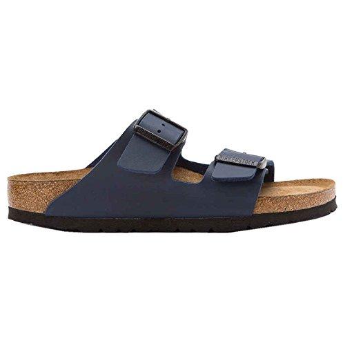 Birkenstock Arizona Chaussures de plage et piscine pour femme - Bleu - bleu, 44.5 EU
