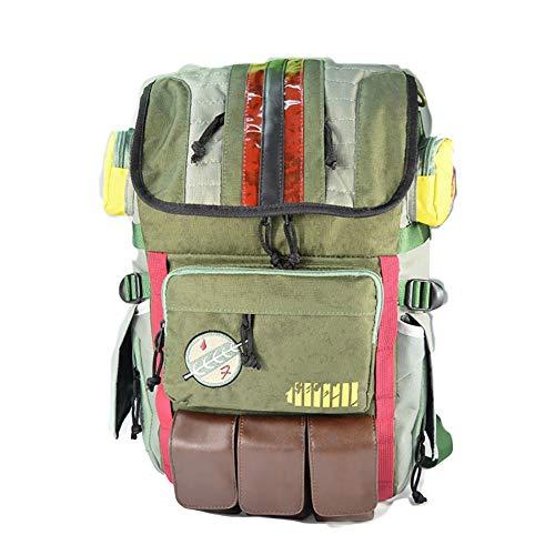 Boba Fett Laptop Rucksack Star Wars Element Tasche Reisetasche