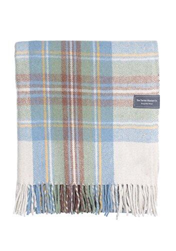 Manta de lana reciclada The Tartan Blanket Co. a cuadros escoceses tartán 457c13b781e7