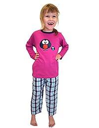 Warmer Kinder-Schlafanzug für Mädchen oder Jungs, Grössen 104 bis 164, verschiedene Modelle, langer Arm und langes Bein, 100% weiche, warme Baumwolle